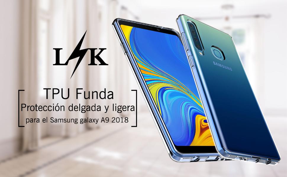 LK Funda para Samsung Galaxy A9 2018, Carcasa Cubierta TPU ...