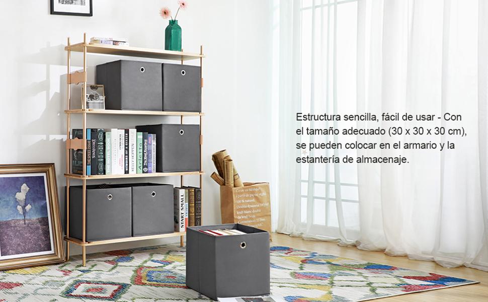 Esta caja de almacenaje ofrece una solución perfecta para guardar sus cosas bajo la cama o en armarios. Le ayuda a acomodar en orden los cosméticos, ropa, ...