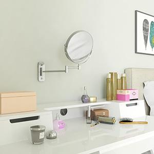 Puede utilizarlo en el cuarto de baño, el dormitorio, la sala de estar o dondequiera que lo necesite.