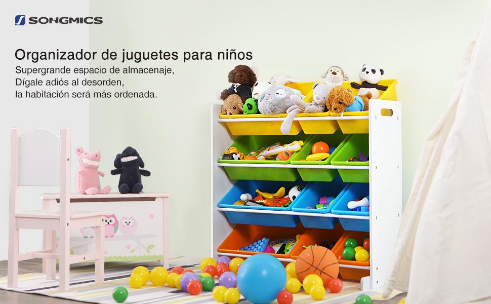 Cajas de almacenaje infantiles best organizacin de la for Caja almacenaje infantil
