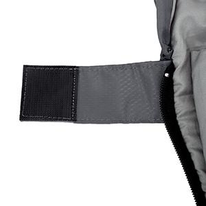 Diseño cuidadoso para usted:El velcro está diseñado especialmente, no se pega al pelo, no sólo puede cerrar el saco de dormir eficazmente, sino también ...