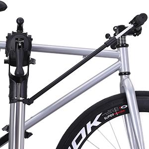 El soporte facilita la reparación de la bicicleta, no tiene que agacharse para reparar los neumáticos y ruedas dentadas. También protege su espalda, ...