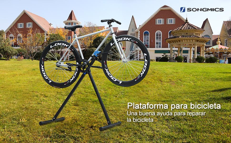 Una buena ayuda para reparar la bicicleta
