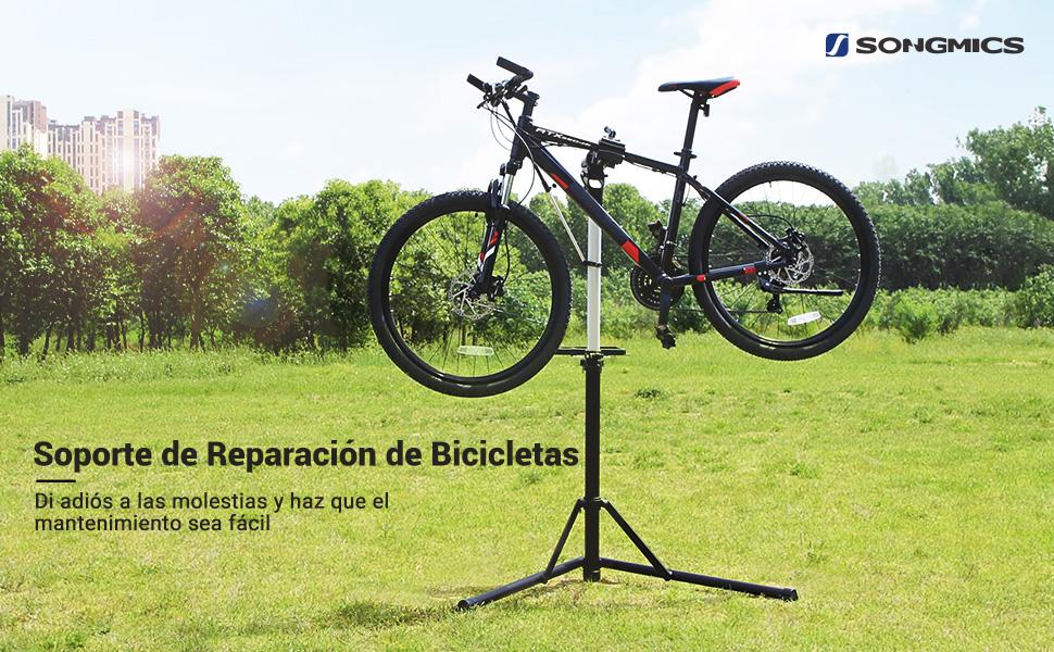 SONGMICS Soporte de Reparación de Bicicletas, Soporte de ...
