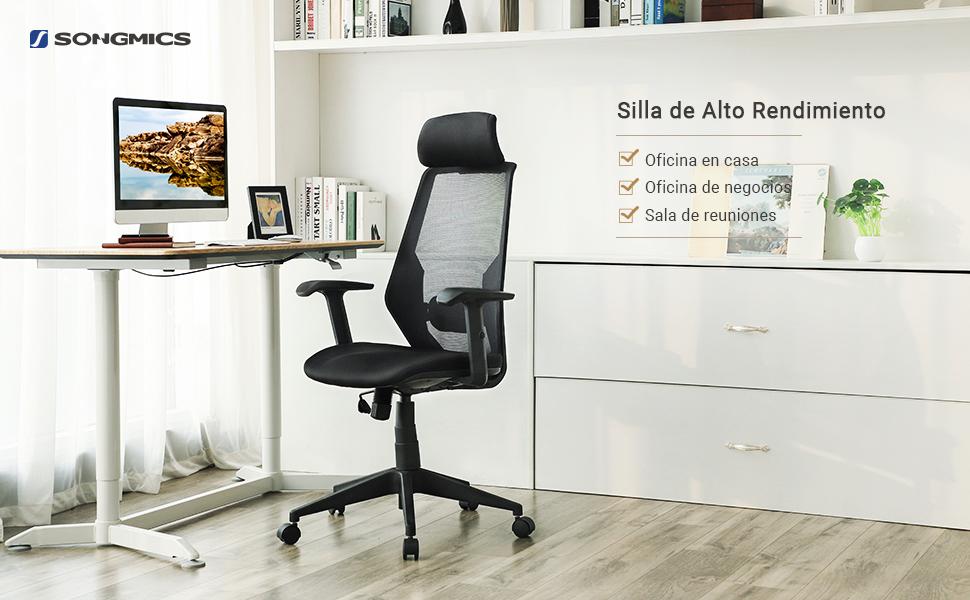 La silla de malla ergonómica puede aliviar la incomodidad de estar sentado durante largo período del tiempo, creando un ambiente de oficina cómodo y ...