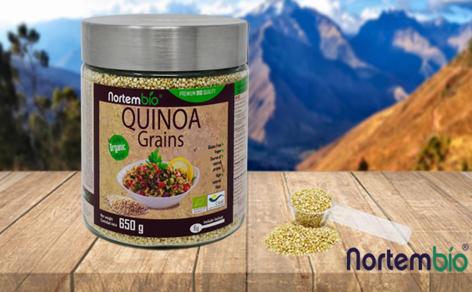Quinoa Orgánica NortemBio 650 gr.