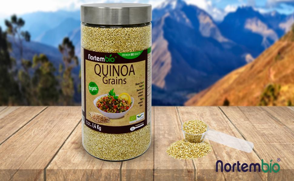 Quinoa Orgánica Nortembio 1,4 Kg.