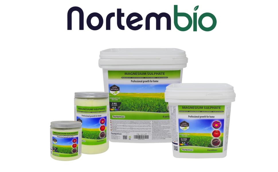 NortemBio Fertiliser es una magnífica fuente concentrada de magnesio, macroelemento esencial para la actividad fotosintética y la producción de clorofila, ...