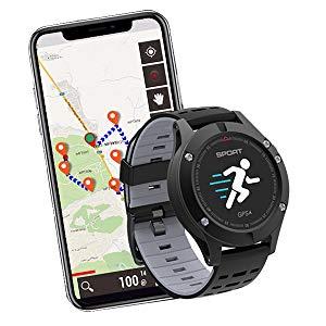 Reloj Inteligente Stoga F5 Reloj Deportivo Fitness Tracker Frecuencia Cardíaca Monitor de Salud Impermeable IP67 Smartwatch GPS Profesional Pantalla ...