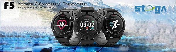 Reloj Inteligente Stoga F5 Reloj Deportivo Fitness Tracker ...