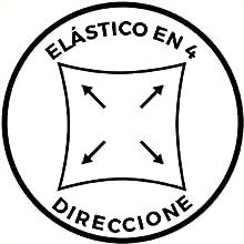 ELÁSTICO EN 4 DIRECCIONES