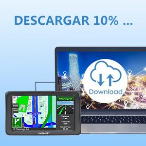 AWESAFE GPS para Coche de 7 Pulgadas con Bluetooth y Cámara Trasera, Gratis de Mapas de Europa Toda la Vida: Amazon.es: Electrónica