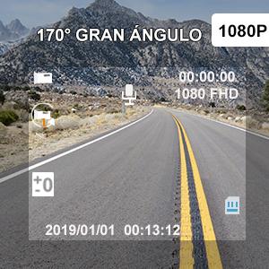 camara de coche 1080p