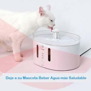 Automática e Inteligente Fuente de Agua para Gatos y Perros de Jnwayb