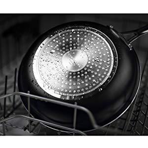 COOKSMARK Sartén Antiadherente Inducción de 24cm Sartén Cerámica de Color Cobre con Mango de Acero Inoxidable Apta para Lavavajillas y Horno
