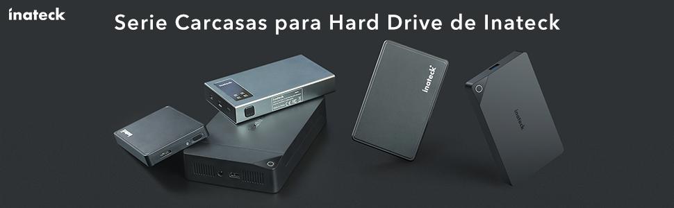 Inateck FE3002 - Carcasa Disco Duro USB 3.0 a SATA Caja para 2.5 ...