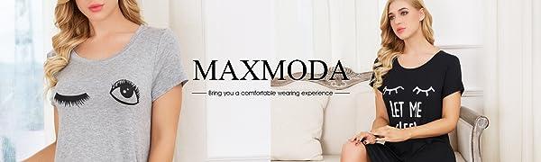 MAXMODA Mujer Pijama De Dos Piezas Pijamas De El Verano Primavera Mujeres Cuello Redondo Ropa De Dormir 2 Piezas De Manga Corta Impresión Pantalones ...