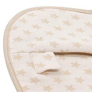 Bebé almohada Prevenir cabeza plana síndrome   incluye 2 fundas de algodón orgánico   reducir plagiocefalia + apoyo recién nacido Natural forma de la ...