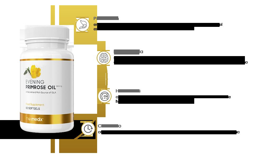 Aceite de Onagra - Suplemento Natural Para la Menopausia ...