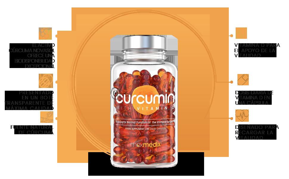 Curcumina con Vitamina D