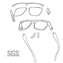 Estructura de las gafas