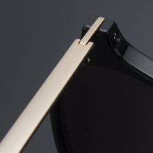Elegear Gafas de Sol Mujer Retro Gafas vintage Redondas 100 ... 769692ffc144
