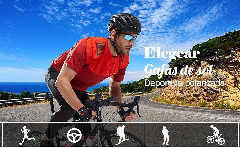 Gafas de sol deportiva ciclismo