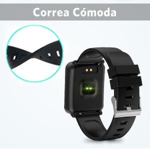 Seneo Reloj Inteligente Hombre, IP68 Smartwatch con Pulsera ...