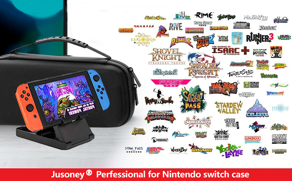 JUSONEY Kit de Accesorios Switch Compatible con Nintendo Switch ...