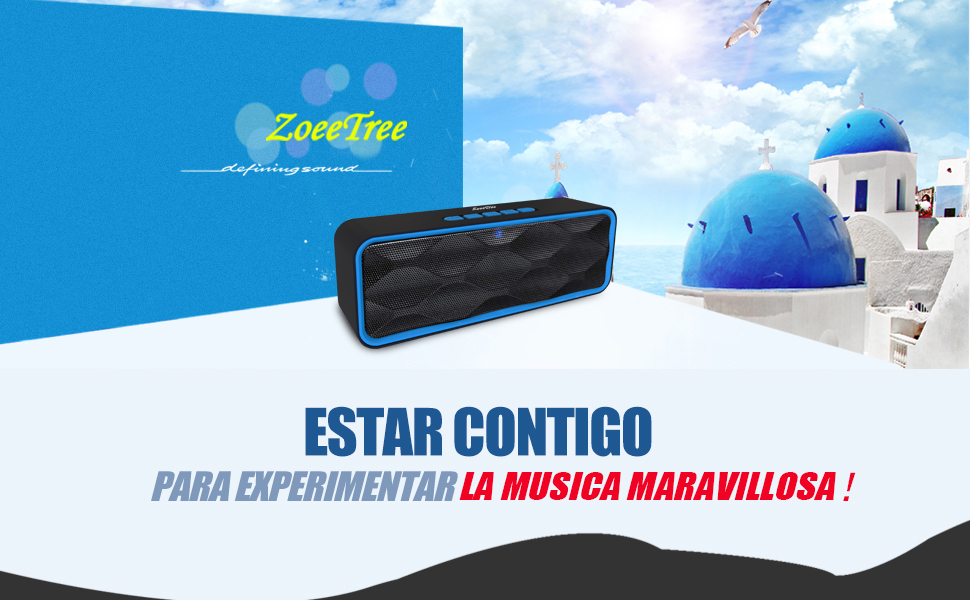 ZoeeTree S1 Altavoz Inalambrico Bluetooth 54ps