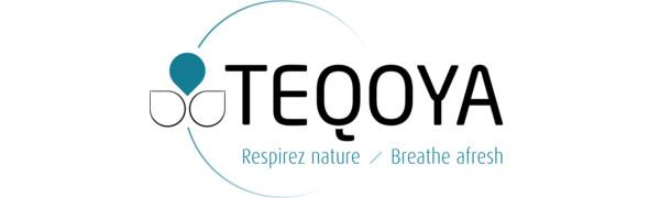 TEQOYA Purificador de Aire Compacto – Ionizador - Neutraliza Las ...