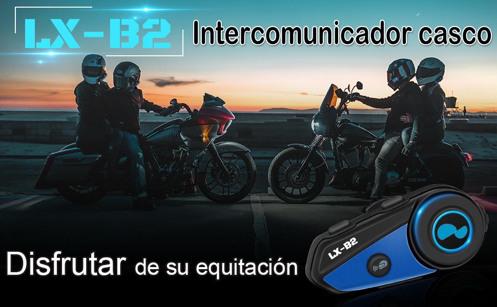 Lexin B2 Pro intercomunicador casco moto,Intercomunicador moto