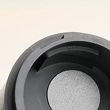 Cafetera Portátil Recargable Albohes, Mini Máquina de Espresso, con Función de Calentar, Máquina Automática de Espresso Profesional, Minicafetera en ...