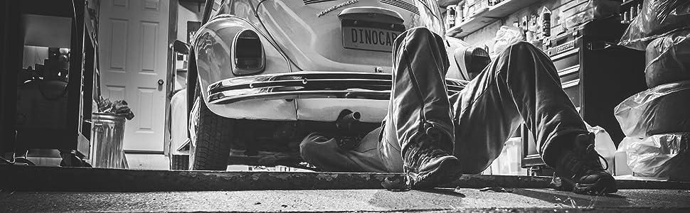 VENDIX Protector pared garaje autoadhesivo para un aparcamiento despreocupado - GRUESO EXTRA 6,5mm & 2m de largo - Protector parking (Juego de 2): Amazon.es: Coche y moto