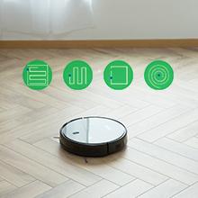 ZIGLINT Robot Aspirador Fregasuelos, Control App Remoto, Navegación Inteligente Mapeo, Auto-Docking para Cargar, con Alexa y Google Home, Especial Mascotas, Pisos Duros y Alfombras, 600 ml: Amazon.es: Hogar