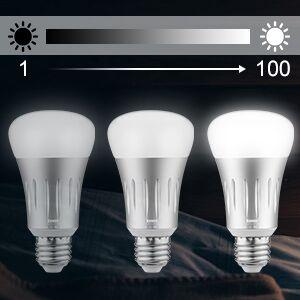 Bombilla Inteligente Wifi LED E27 RGBW, Bawoo WiFi Lámparas Color Regulable 16 Millones Bombilla Smart LED Bombillas WiFi Bulb Smart Regulable Amazon ...