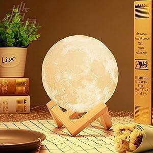Cena romántica - lámpara luna