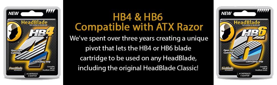 HeadBlade afeitadora ATX: Amazon.es: Salud y cuidado personal