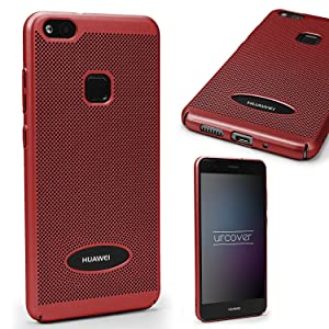 Urcover Funda Huawei P10 Lite Carcasa Ultrafina Malla Rosa Oro ...