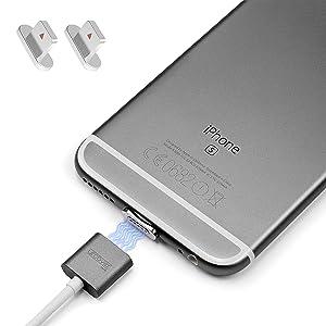 Urcover® Cable Cargador magnetico Compatible con Apple Carga ...