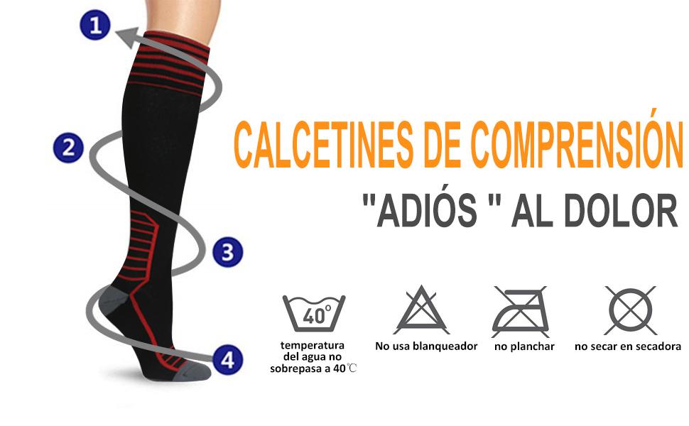 A diferencia de los calcetines normales, HAUEA calcetines están diseñados con compresión de gradiente, el equipo de rendimiento perfecto diseñado para ...
