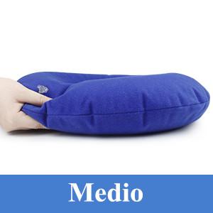 HAUEA Cojín Inflable Redondo con Bomba 35cm Almohada Suave para Hemorroides, Dolor de Coxis, Llagas De Cama, Sillas de Ruedas Embarazadas Uso en ...