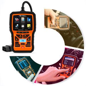 De acuerdo con las normas ISO 9141-2, ISO 14230-4 y SAE J1850, la aplicación OBD se divide en ...