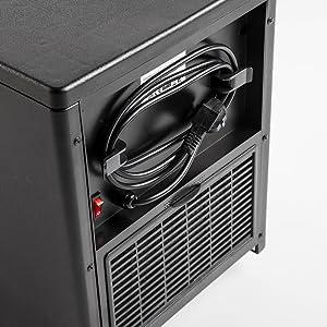 El calefactor incorporada una tecnología purificadora de Quartz que elimina el 90% de las bacterias y los gérmenes de una estancia, en menos de 2 horas, ...