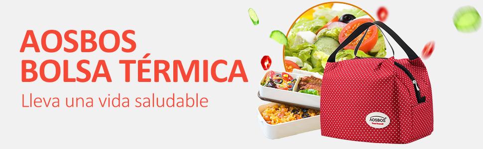 Bolsa Termica Comida Trabajo Porta Alimentos Isotermica Iris ...