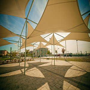 Cool Area Toldo Vela de Sombra Cuadrado 4.5 x 4.5 Metros ...
