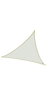 triangular vela de sombra
