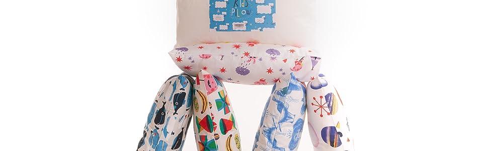Almohada relleno para cuna de bebe transpirable infantil fibra antiácaros 30x50 cm color blanco Fabricado en España Varios packs de unidades (4 ...