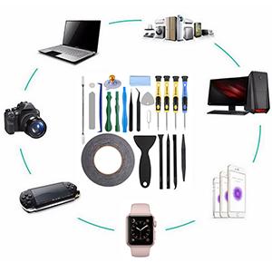 herramientas ayudan a abrir y reparar