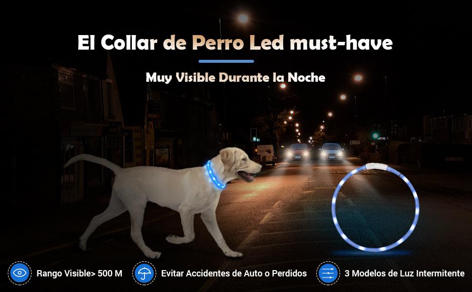 LED Collar para Perros